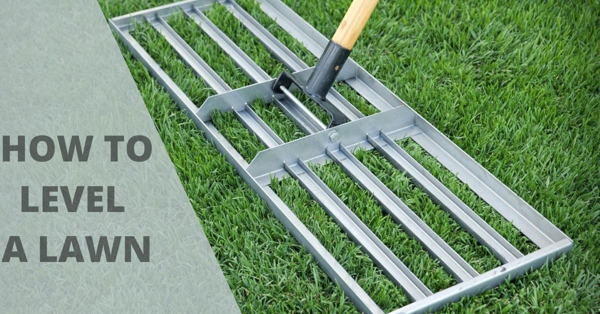 How to Level a Lawn